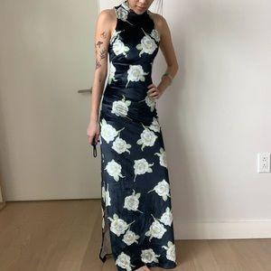 MINKPINK Velvet Maxi Dress